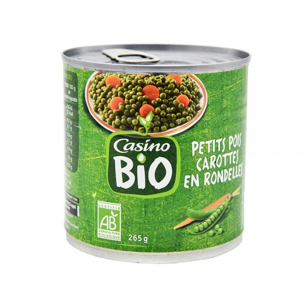 Casino Bio Pt Pois Carotte En Rondele Bio  - 265G 496227-V001 by Casino