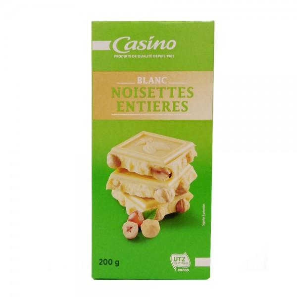 CHOCOLAT BLANC NOISETTE ENTIER 496376-V001 by Casino