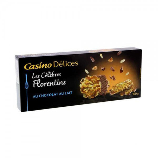 FLORENTINS CHOCO LAIT DELICES 496495-V001 by Casino