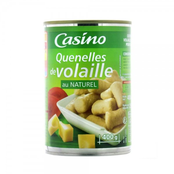 QUENELLE VOLAILLE NATURE 496679-V001 by Casino