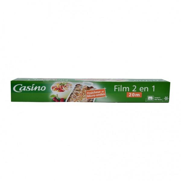 Casino Film Etirable 2En1 - 20M 496923-V001 by Casino