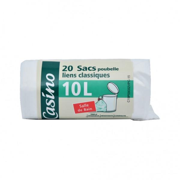 Casino Sac Sac Poubele Sdb Lien Classique - 20X10L 496956-V001 by Casino