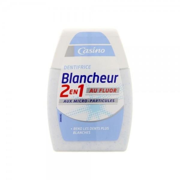 Casino Blancheur 2 in 1 Fluor 75ml 497111-V001 by Casino
