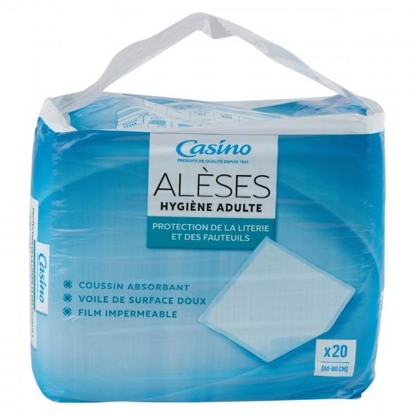 Casino Aleses Hygiene Adulte Protection De La Literie Et Des Fauteuils 20 Per Pack 497219-V001 by Casino
