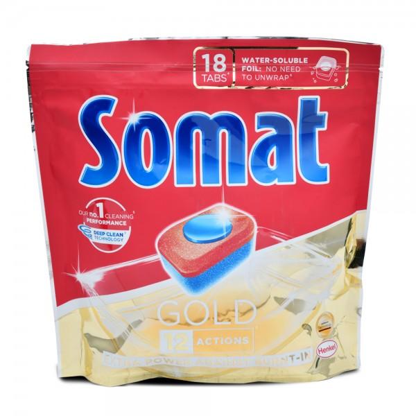 Somat Gold Tabs 18 Count 497836-V001 by Somat