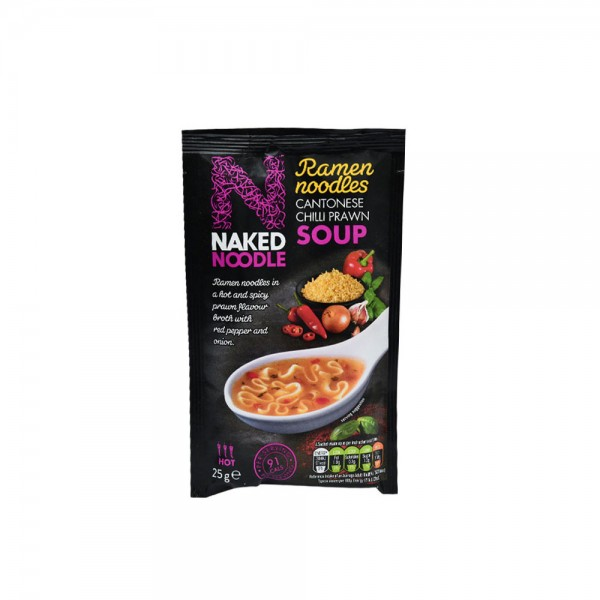 N.Noodle Cantonese Chili Prawn Cup Soup 498480-V001 by Naked Noodle
