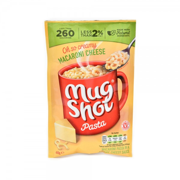 Mugshot Macaroni Cheese Pasta 68G 498484-V001 by Mug Shot