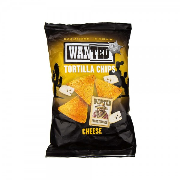Wanted Nacho Cheese Flavored Tortilla Chips 200G 499134-V001 by Wanted