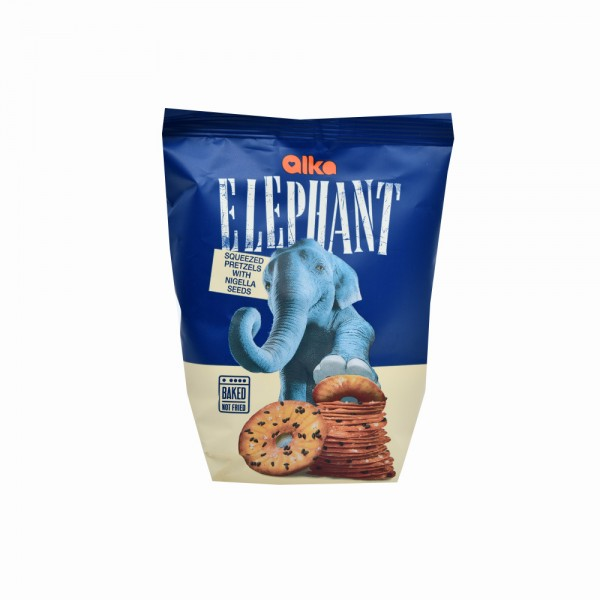 Elephant Pretzel Disc Nigella Seeds - 80G 499797-V001 by Elephant