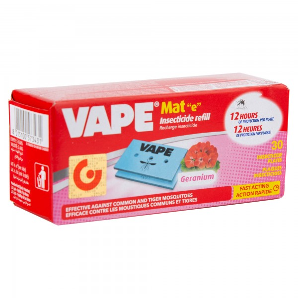 Vape Mat Geranium 30 Pieces 499924-V001 by Vape