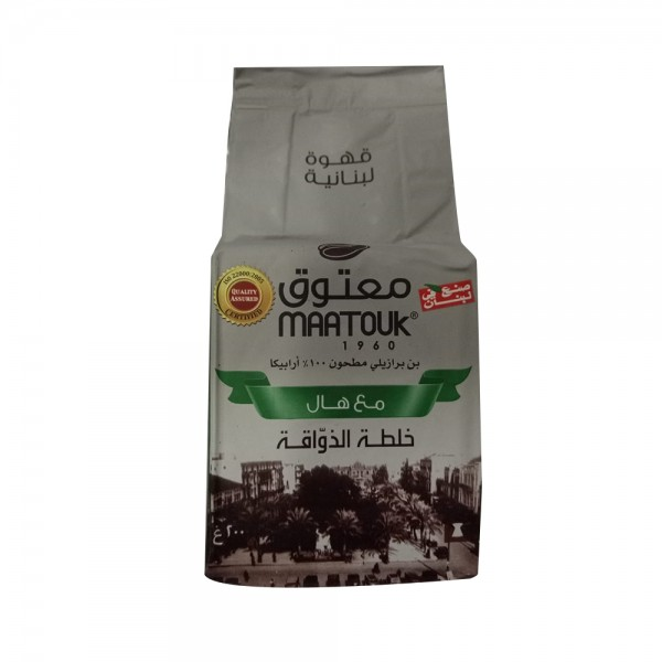 Maatouk Private Blend with cardamom 200g 211065-V001 by Maatouk