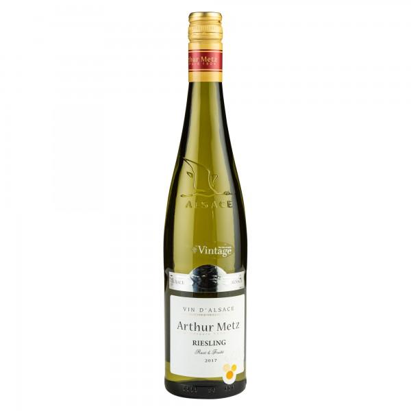 Arthur Metz Vin D'Alsace Riesling Cuvee Wine 2017 750ml 500184-V001