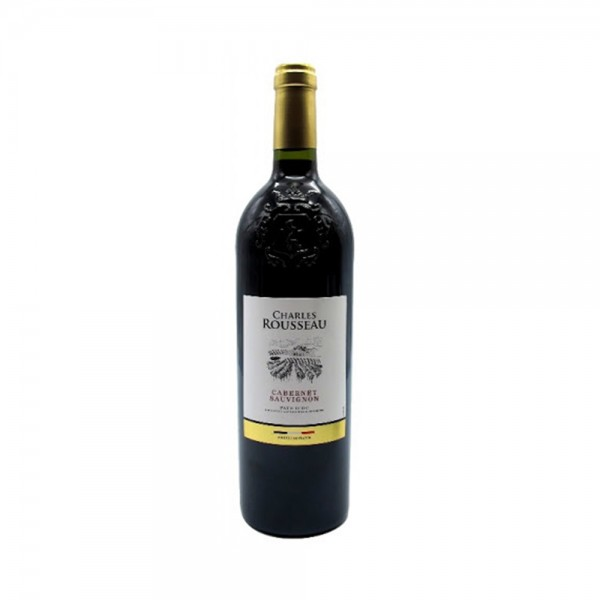 Charle Roussaux Vdp Cabsv Red - 750Ml 500215-V001 by Ch Rousseau