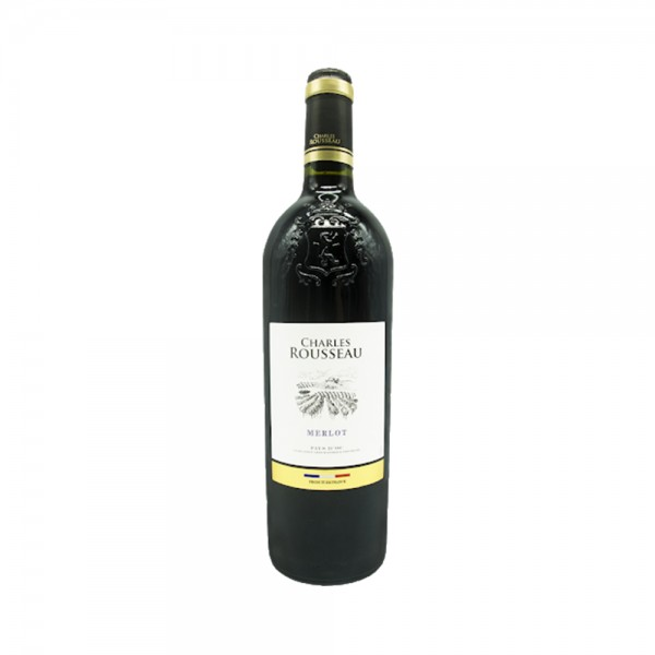Charle Roussaux Vdp Merlot Red - 750Ml 500216-V001 by Ch Rousseau