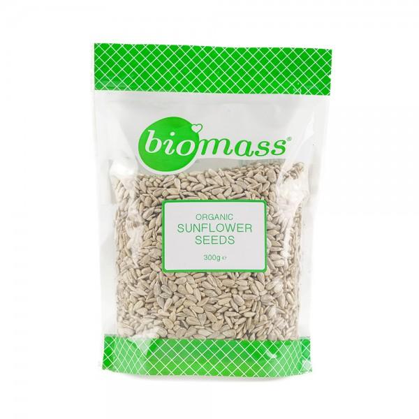 Biomass Organic Sunflower Seeds  - 300G 500379-V001 by Biomass
