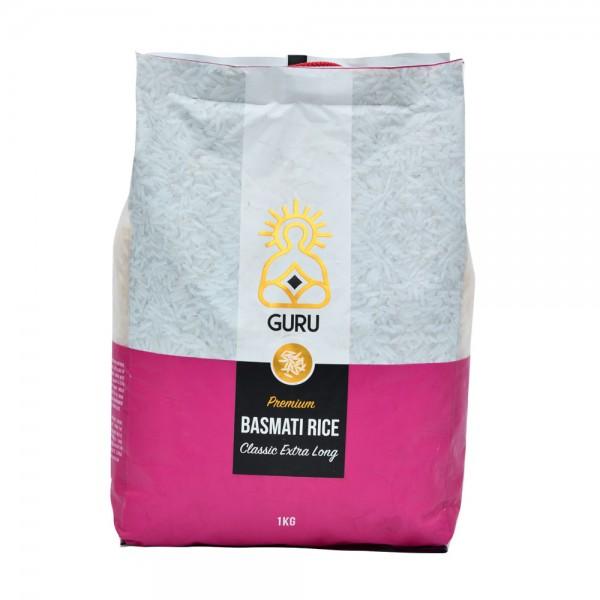 Guru Basmati 1121 Classic Ext Long  - 1Kg 500425-V001 by Guru