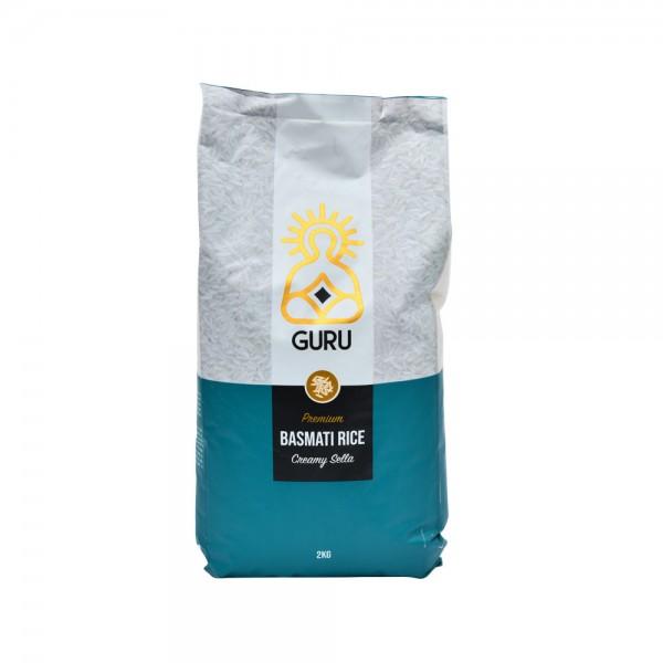 Guru Creamy Sella Basmati Rice 2kg 500454-V001 by Guru
