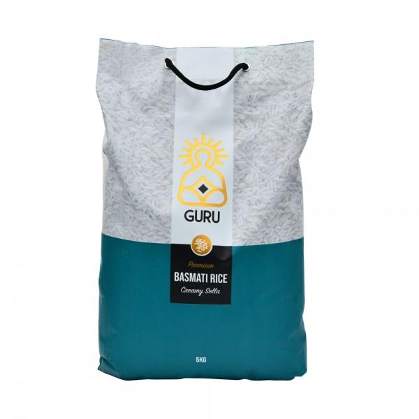 Guru 1121 Creamy Sella Basmati Rice  - 5Kg 500455-V001 by Guru