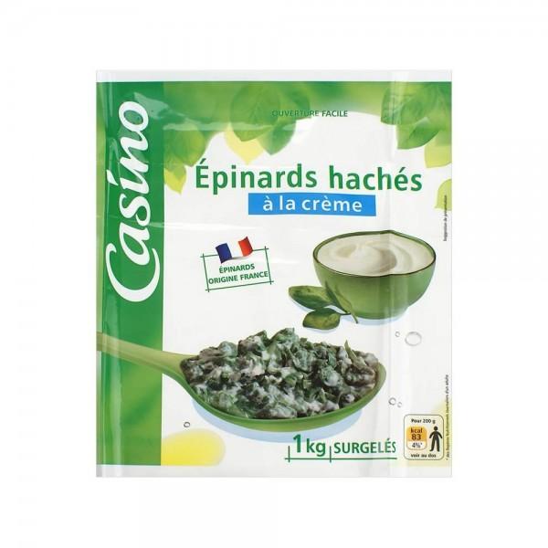 Casino Epinard Hache Creme 1Kg 501197-V001 by Casino