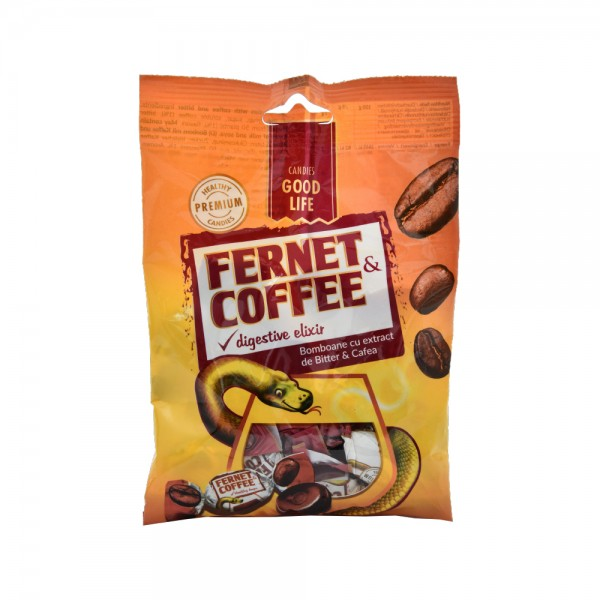 Cipi Good Life Fernet Coffee Candies Pack 75G 501505-V001 by CIPI