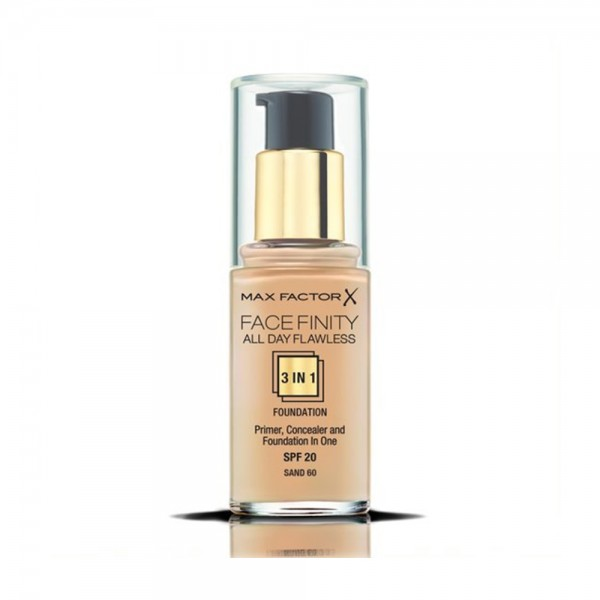 Max Factor Facefinity 3In1 Fdt 60 Sand - 1Pc 501665-V001 by Max Factor