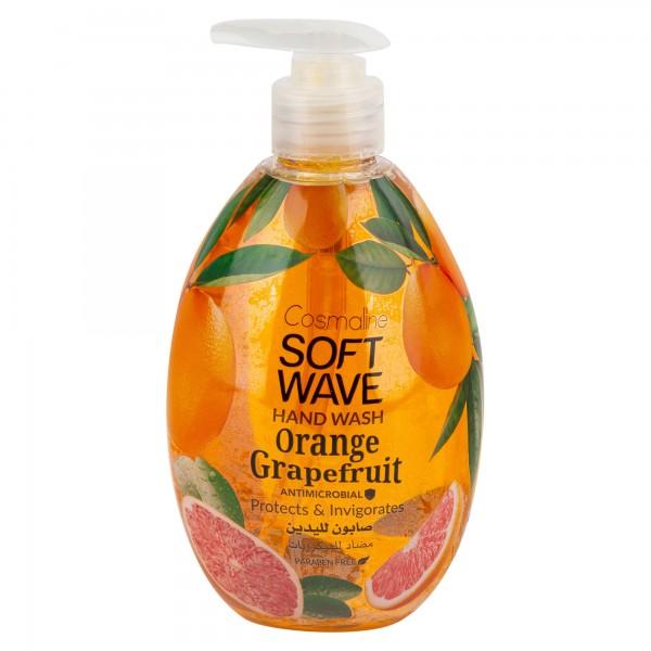 Cosmaline Soft Wave Hand Wash Orange Grapefruit 550ml 501697-V001 by Cosmaline