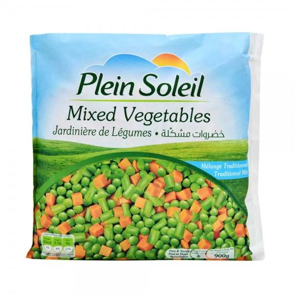 P.Soleil Mixed Vegetables - 900G 501830-V001 by Plein Soleil