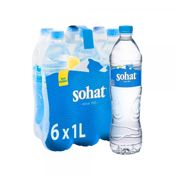 Sohat Mineral Water Pet 6x1L 501833-V001 by Sohat