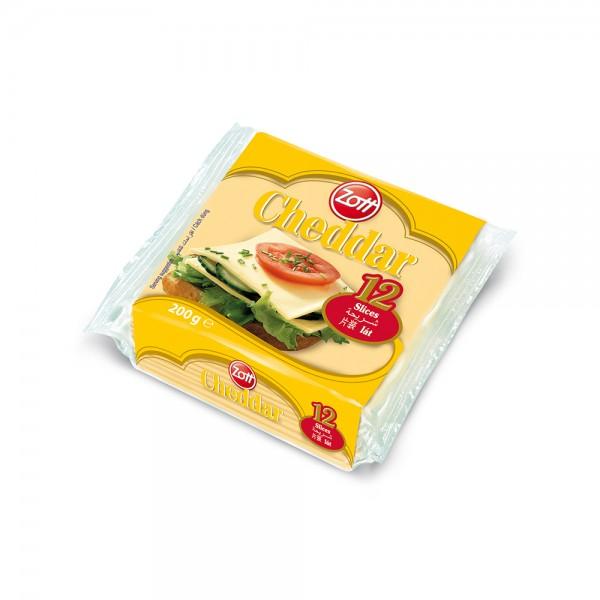 Zott Processed Cheese Slice Cheddar 501983-V001 by Zott