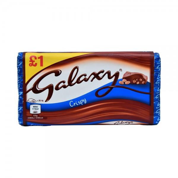 Galaxy Chocolate Crispy - 102G 502002-V001 by Mars
