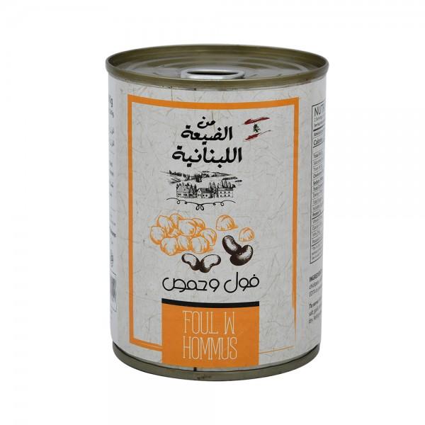 Min Dayaa Fava Bean+Chick Peas Eo  - 400G 502034-V001 by Min al Dayaa