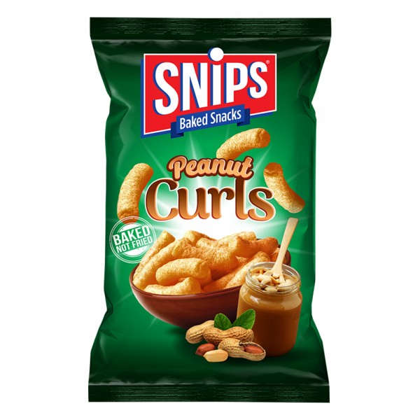 SNIPS Peanut Curls 210G 502437-V001 by Snips Baked Snacks
