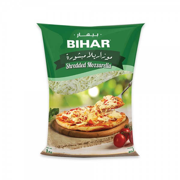Bihar Shredded Mozzarella 502680-V001 by Bihar