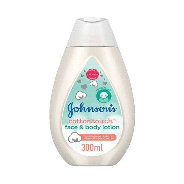 Johnson & Johnson Cotton Touch Lotion 300ml 502895-V001 by Johnson & Johnson
