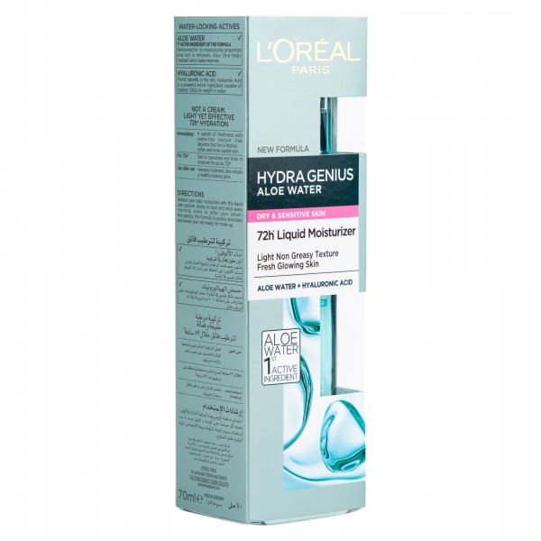 L'Oreal Hydragenius Waters Pnm 70ml 502898-V001 by L'oreal