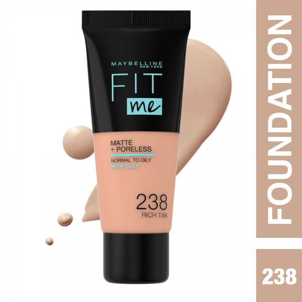 Maybelline Fit Me Fdt Mat. 238 Rich - 1Pc 503180-V001 by Maybelline