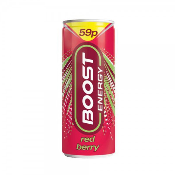 ENERGY DRINK BERRY 503400-V001 by Boost Energy