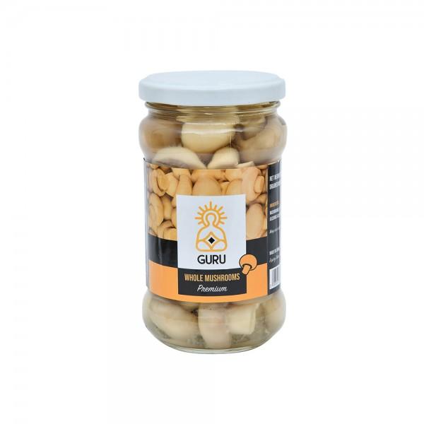 Guru Whole Mushroom in Jar 400g 503738-V001 by Guru