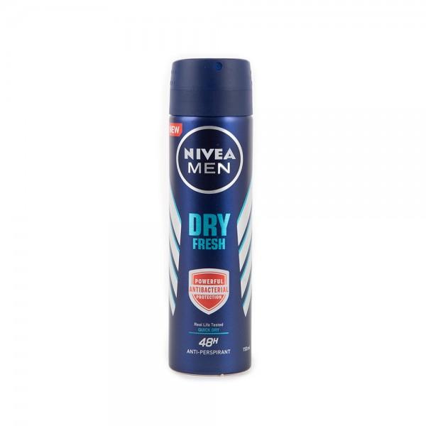 Nivea Deodorant Spray Dry Fresh For Him 150ml 503776-V001 by Nivea