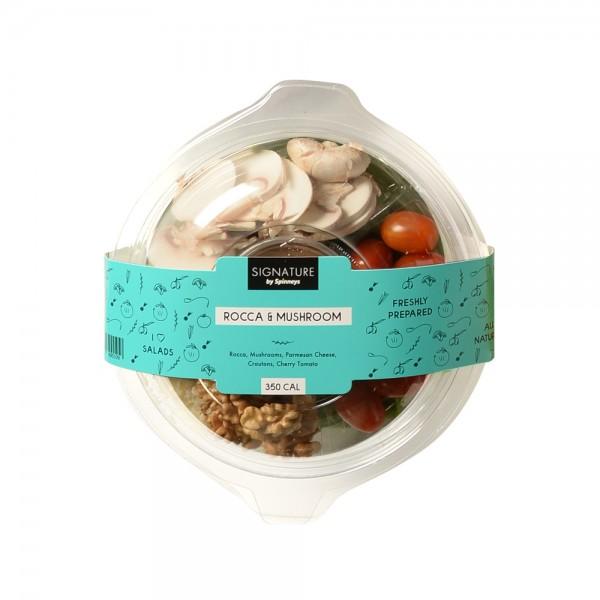 Spinneys Rocca Mushroom Salad 503789-V001 by Spinneys Catering