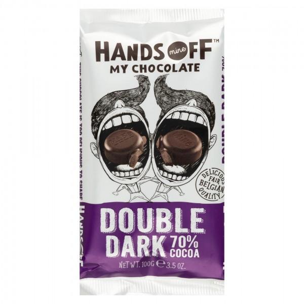 Hands Off My Chocolate Double Dark 70% Cacoa Bar 100G 504022-V001 by Hands Off My Chocolate