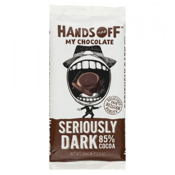 Hands Off My Chocolate Seriously Dark 85% Cacoa Bar 100G 504023-V001 by Hands Off My Chocolate