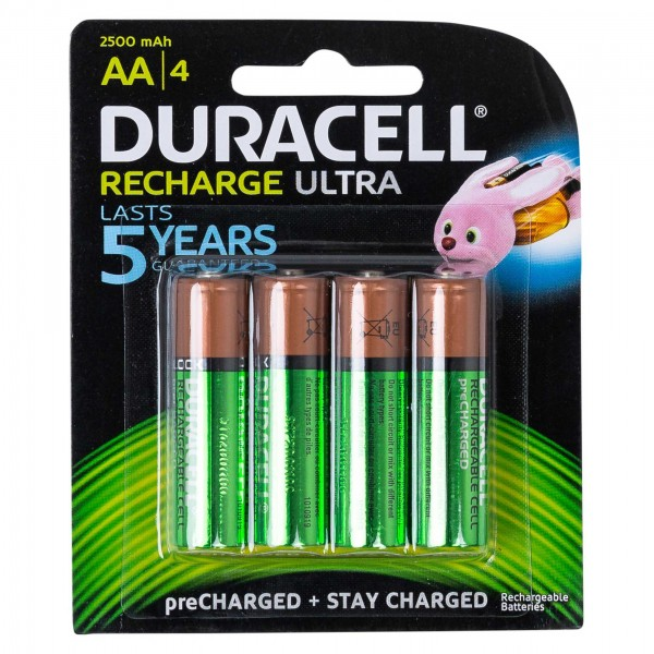 BATTERY RECHARGE TURBOAA 504342-V001 by Duracell