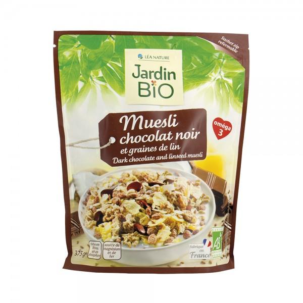 Jardin Bio Etic Muesli Chocolat Noir Et Graines De Lin 150G 504622-V001 by Jardin Bio