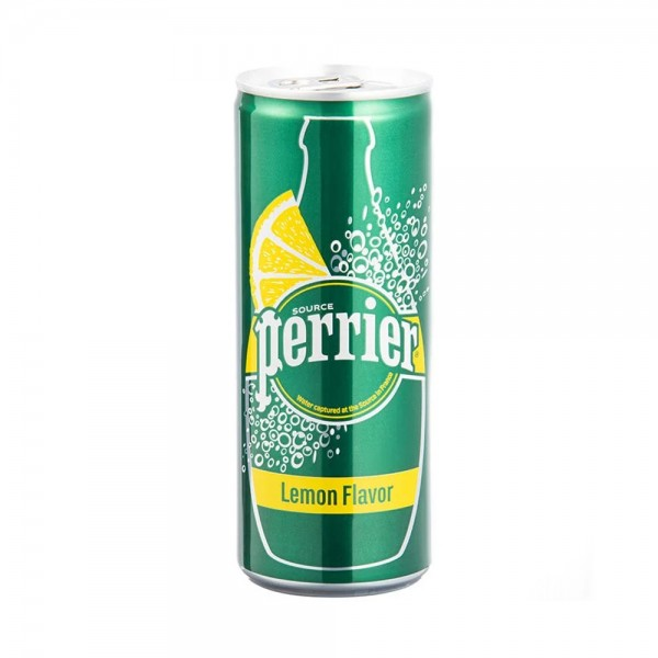 Perrier Sparkling Water Lemon Can - 250Ml 504853-V001 by Perrier