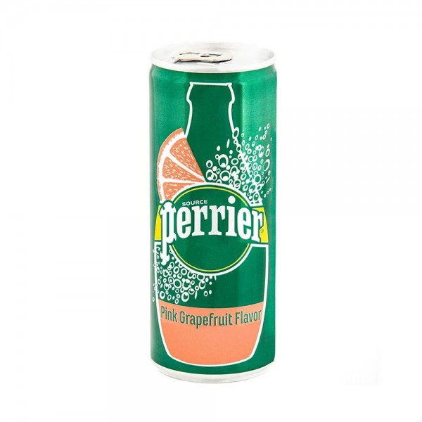 Perrier Sparkling Water Grapefruit Can - 250Ml 504854-V001 by Perrier