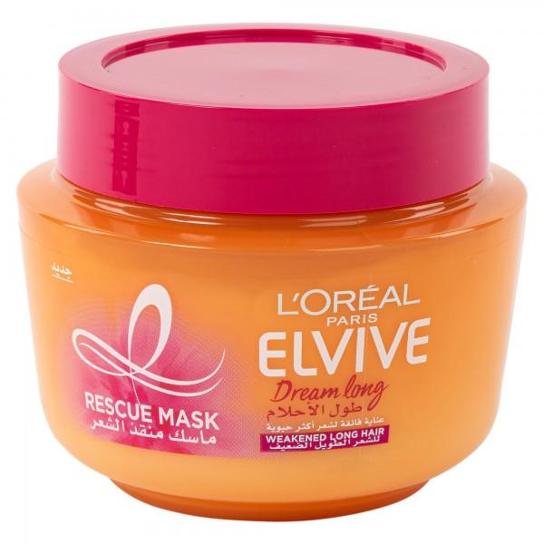 L'Oreal Paris Elvive Dream Long Hair Rescue Mask 300ml 504924-V001 by L'oreal