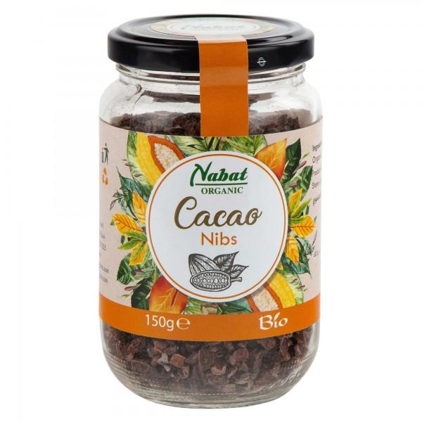 Nabat Organic Cacao Nibs 150G 505205-V001 by Nabat Organic