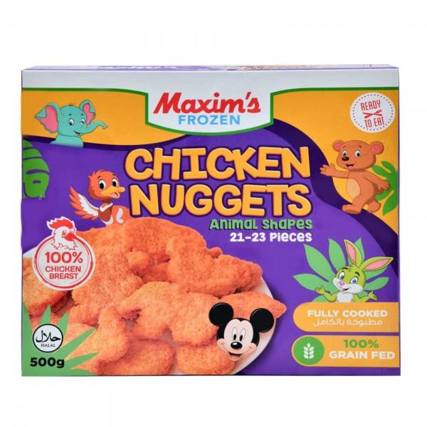 Maxim'S Chicken Nuggets Kids Animal Sh - 500G 505661-V001 by Maxim's