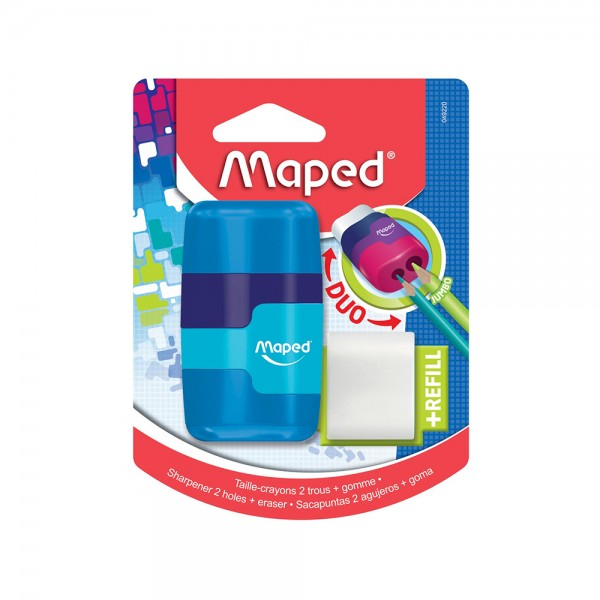 Maped Conct 2H Shrp Ersr Sft Tch Bls 1PC 506642-V001 by Maped